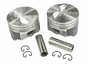 Speed Pro H660cp40 Small Block Chevy 327 333 Flat Top Hyper Pistons 040 Sbc 5 7