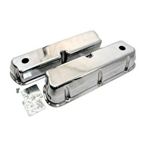 Sbf Ford 289 302 351 Tall Aluminum Valve Covers Windsor