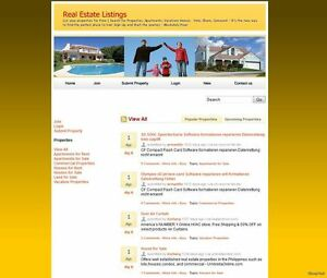 Real Estate Social Network Website For Sale Free Setup And Domain