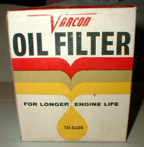 Varcon Oil Filter 10 8534 Fits 4 Cyl Gmc Chevy Ii Products 62 69 Vintage New