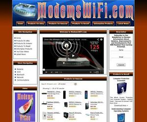 Wifi Modems Automated Affiliate Store Business Website For Sale Aged Domain Name