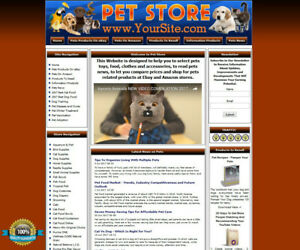 Pet Supply Store Website For Sale List Cats Dogs Birds