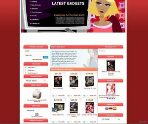 Premium Ecommerce Online Store Shopping Cart Website For Electronics Business