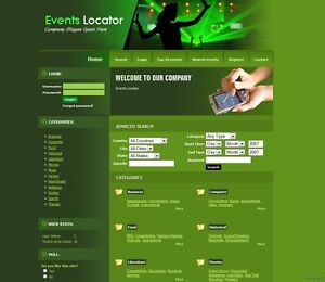 Concert Promotion And Touring Ads Business Website For Sale Google Adsense
