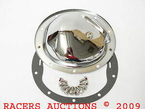 10 Bolt Chrome Differential Cover Kit 64 87 Chevy Camaro Chevelle C10 K10 Truck