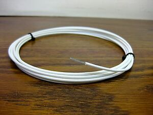 High Voltage Corona Resistant Silver Ptfe 20 Awg Wire 13 Kv Gore F01b080 25 Ft
