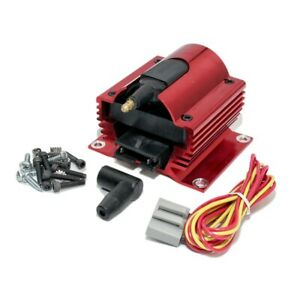 Assault Racing Anodized Red 50kv Low 0 35 Ohm Resistance Ignition Super Coil