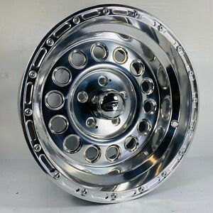Set Of Four 4 15 Polished Eagle Alloy Wheels Am601