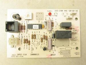 Manitowoc 2000813 Ice Machine Circuit Control Board 1092 11a