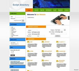 Scripts Directory Business Website For Sale Adsense Online Earnings Free Domain