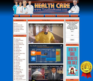 Health Care And Medical Equipment Amazon Adsense Business Website For Sale