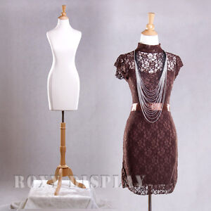 Female Mannequin Manequin Manikin Dress Form f01c bs 01nx