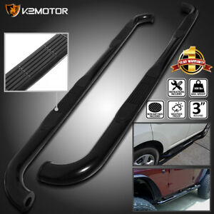 09 15 Dodge Ram 1500 Crew Cab Black S s Running Boards Side Step Nerf Bar
