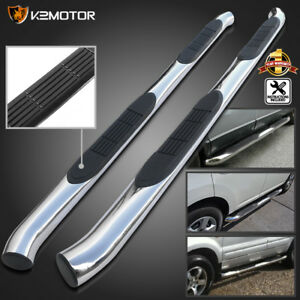 For 2001 2006 Acura Mdx 3 Side Step Nerf Bars 03 08 Pilot S S Running Boards