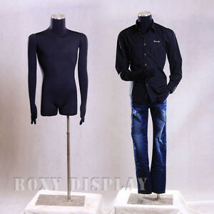 Male Mannequin Manequin Manikin Dress Form m02arm bs 05