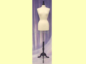 Female Size 6 8 Form Mannequin Dress Form f6 8w Bs 02bkx