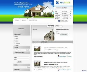 Property Listings Website Online Business For Sale Real Estate Agent Agency
