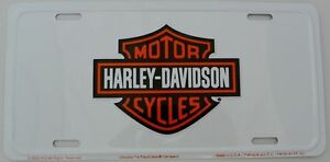 Harley Davidson Motorcycle Hd Motor Cycle Bike Auto Car Truck License
