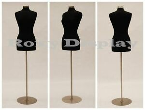 Size 6 8 Female Mannequin Manikin Dress Form Jf fwp bk Bs 04