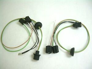 1958 Chevy Impala Belair Headlight Connection Extension Wiring Harness 59 Truck