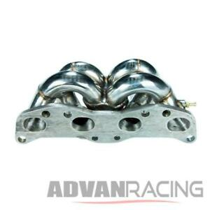 S13 180sx Ca18 Sil80 Ca18det T3t4 Top Mount Turbo Stainless Exhaust Manifold T4e