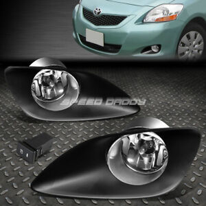 For 06 11 Toyota Yaris Xp90 4 Door Crystal Lens Oe Driving Fog Light Lamp Switch