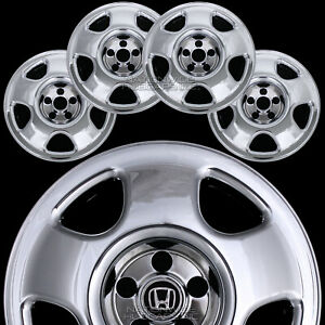 4 Chrome 07 12 Honda Crv 17 Wheel Skins Hub Caps Tire Rim Covers Free Shipping