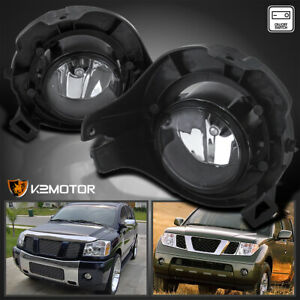 Fit 05 12 Pathfinder 05 09 Frontier Clear Fog Lights Bumper Lamps Wiring Switch