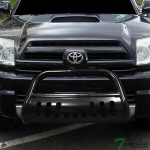 Topline For 2003 2009 Toyota 4runner Bull Bar Bumper Grill Grille Guard Black