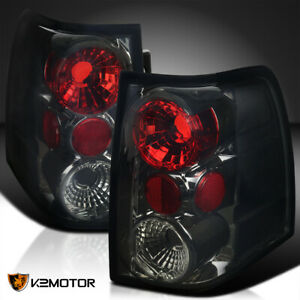 Fit 2003 2006 Ford Expedition Rear Brake Lamps Tail Lights Smoke Replacement