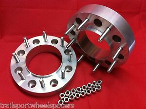 2 Ford Diesel 2004 Up F250 350 Hub Centric Wheel Spacers Adapters Superduty