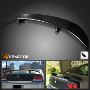 2006 2010 Dodge Charger Factory Style Rear Wing Spoiler Black