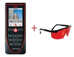 Leica Disto E7500 Laser Distance Meter With Laser Glasses From Leica Dealer