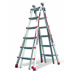 Little Giant 12026 26 foot Multi use Ladder 300lb Capacity