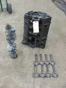 1956 56 Chevrolet Chevy 265 V8 Engine Corvette Clean 3720991 J 3 55 Crank Rods