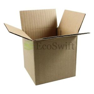 50 10x10x10 Cardboard Packing Mailing Moving Shipping Boxes Corrugated Cartons