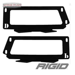 Rigid Industries D Series Dually Fog Light Mount Kit 10 17 Dodge Ram 2500 3500