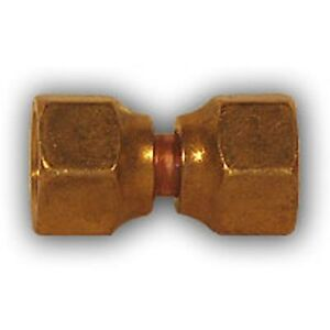 4pcs 1 2 Inch Double Female Flare Union Brass Pipe Fitting Npt Soft Copper Air