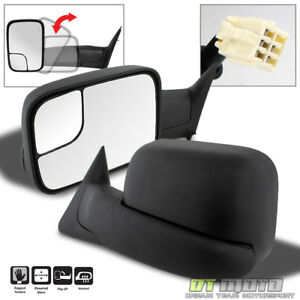 Left Right 1998 2001 Dodge Ram 1500 2500 3500 Flipup Power Heated Tow Mirrors