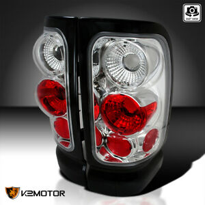 For 1994 2001 Dodge Ram 1500 2500 3500 Clear Tail Lights Brake Lamps Left right