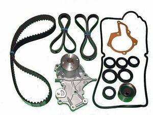 Timing Belt Kit Suzuki Sidekick 16 Valve Water Pump Seals Tensioner Gaskets