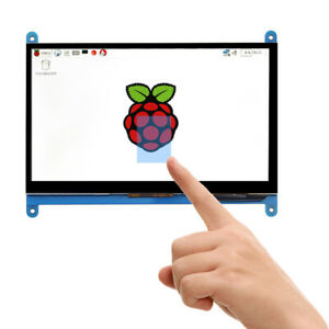 7 Capacitive Touch Screen Lcd Display Ips 1024x600 Hdmi For Raspberry Pi 3 B