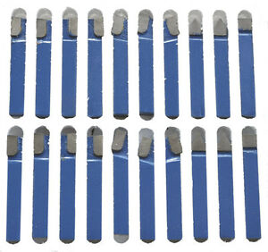 1 2 Carbide Tip Tool Bit 20 Pc Set Lathe Tool Milling Cutting Tools