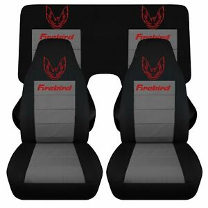 Fits 82 92 Pontiac Firebird Trans Am Car Seat Covers Front And Rear Cotton