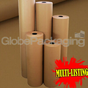 Strong Brown Kraft Wrapping Parcel Paper 90gsm Free P p