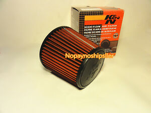 Universal K N Kn Car 3 Inch Cone Dry High Flow Cold Air Intake Filter Kit