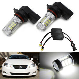 Xenon White 52 smd 9005 Led High Beam Daytime Running Lights For Lexus Toyota