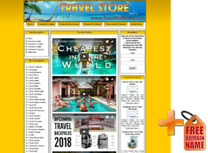 Ebay Travel Niche Website Use With Clickbank Adsense Amazon