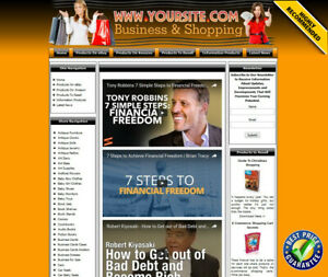 Residual Income Money Making Shop Online Business Website For Sale