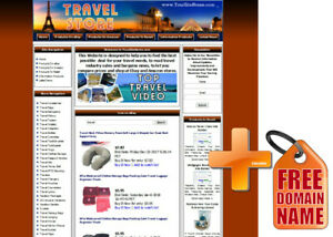 Amazon Store Travel Website For Sale Adsense Youtube Automated Rss News